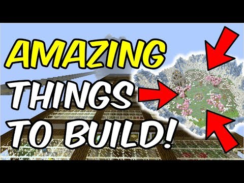 5 AMAZING Things To Build In Survival Minecraft! (Xbox360/PS3/XboxOne/PS4/Switch/Better Together)