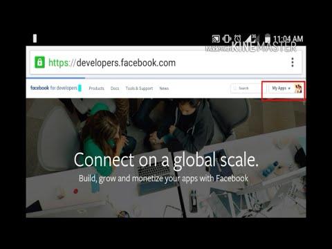 How to get facebook App I'd  (MOBILE)