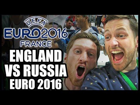 ENGLAND VS RUSSIA - EURO 2016 MATCH VLOG: DIER FREE KICK, LATE GOAL & FAN TROUBLE!