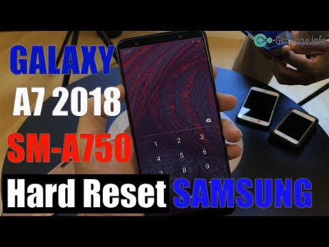 How To Hard Reset SAMSUNG GALAXY A7 2018 SM A750,8G61Y - Watch Best