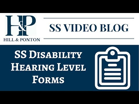 SS Hearing Level - Forms