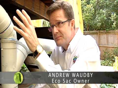 ECO SAC install flexible bladder water tanks under your house