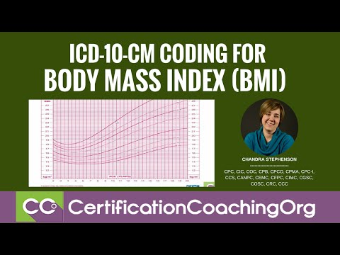 ICD-10 for BMI — Body Mass Index ICD-10-CM Coding