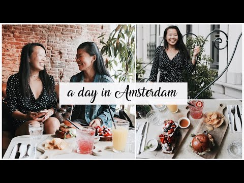 A DAY IN MY LIFE: Amsterdam with Internet Friend