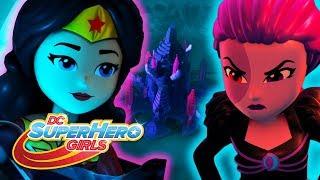 LEGO Brain Drain | Invisible Roadtrip To The Moon | DC Super Hero Girls