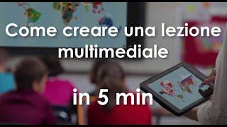 Come creare lezioni con ClassFlow in 5 min