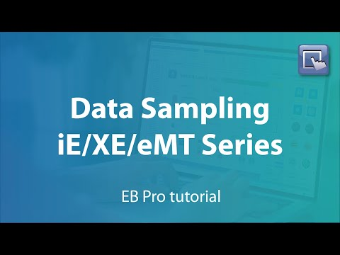 Weintek EasyBuilder Pro tutorial - 8.Implement data sampling for iE/XE/eMT series