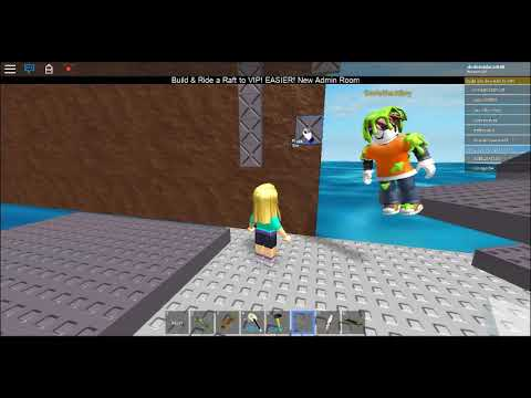 Roblox Build & Ride a Raft or SKATEBOARD to VIP!