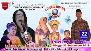 Download LIVE STREAMING SANDIWARA LINGGA BUANA Rancananggung, Minggu 22 September 2019 PENTAS SIANG Video
