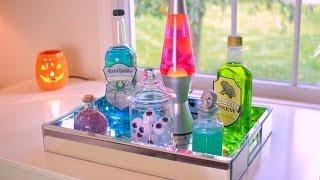 Diy Halloween Potion Bottles Halloween Room Decor