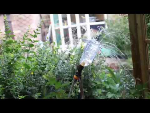 Home Hack - Homemade Garden Sprinkler