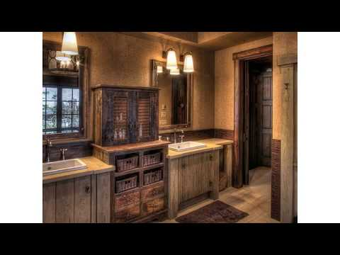 Bathroom Vanity Lights Rustic