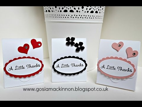 WEDDING FAVOUR IDEA WITH STAMPIN' UP!