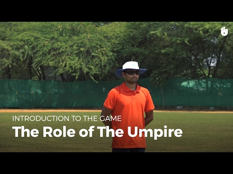 The Role of the Umpire | Cricket