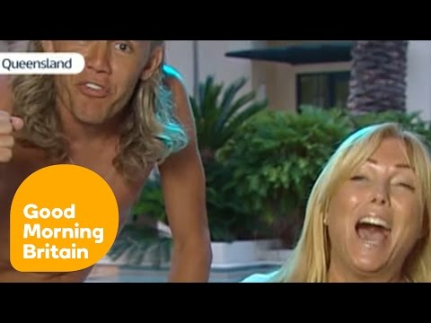 Jimmy Bullard Crashes Interview With Carl Fogarty's Wife | Good Morning Britain