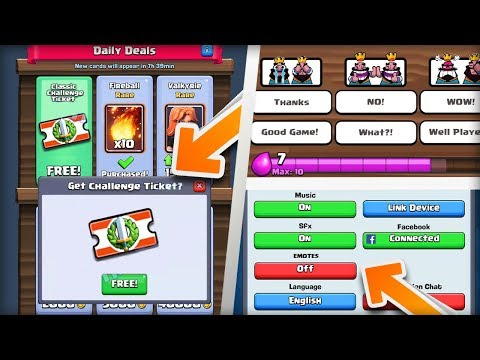 CLASH ROYALE CONFIRMED THEY'RE ADDING THIS SOON! NEW UPDATE FEATURES COMING IN 2018! (Havoc Gaming)