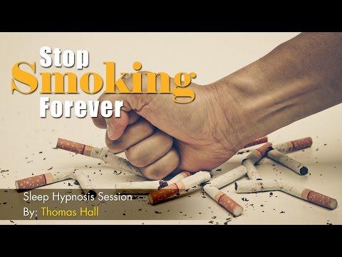 Stop Smoking Forever - Sleep Hypnosis Session - By Thomas Hall