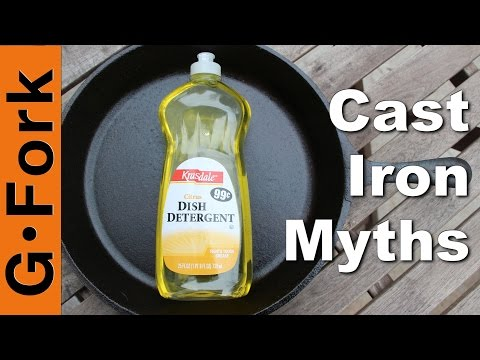 Use Soap On Cast Iron? - 3 Cast Iron Myths - GardenFork