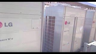 LG MultiV IV checkup - Definitely quieter than a Goodman