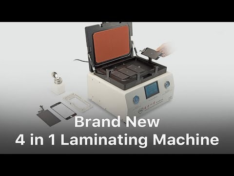 Automatic 4 in 1 Vacuum OCA Laminating and Bubble Removing Machine