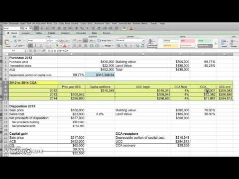 Capital Gain - Rental Property