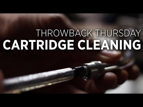 Cleaning DJ Needle Cartridges With An Eraser: Throwback Thursday DJ Tip