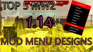 mw2 usb mod menu ps3