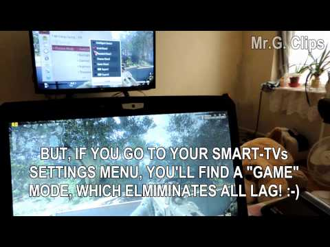 PC to TV: Lag-Free Wireless Gaming Solution! :-)
