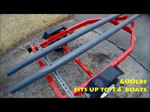 Cheap Trailer for Hobie Pro Angler