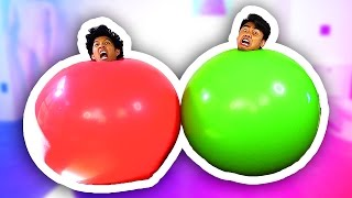 Download GIANT BALLOON CHALLENGE! Video