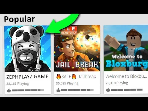 GETTING #1 POPULAR GAME ON ROBLOX