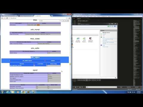 Setting up PHP PDO connection to MS SQL Server 2008 R2