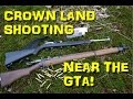 Target Shooting on Crown Land | Hike with the Dogs!