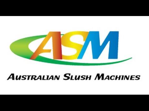 Australian Slush Machines Range of Slush Ice Cream Frozen Yoghurt Machines