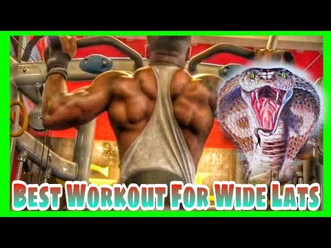 How To Grow Your Lats Fast: Cobra Back Workout