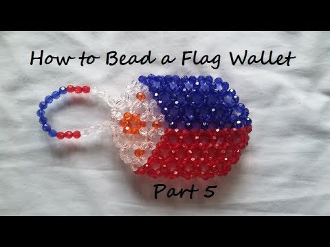 How to Bead  a Flag Wallet Part 5