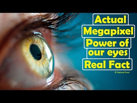 Actual Megapixel Power of our eyes Real Fact
