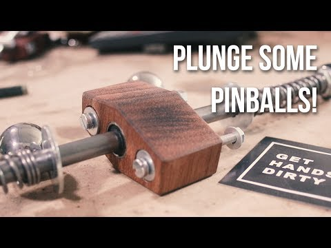 Making a Pinball Plunger for Get Hands Dirty