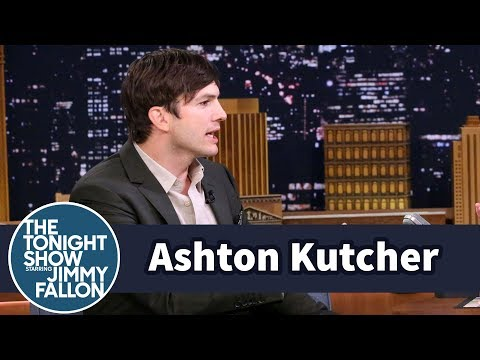 Ashton Kutcher Traded Shirts with a Stranger to Meet Bachelorette Rachel Lindsay