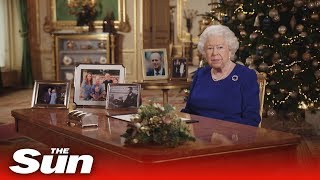 Queen's Speech - Watch Her Majesty deliver annual Christmas Message in full