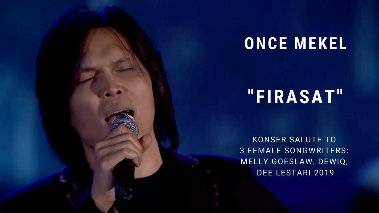 Download Once Mekel - Firasat (Konser Salute Erwin Gutawa to 3 Female Songwriters) MP3 Gratis