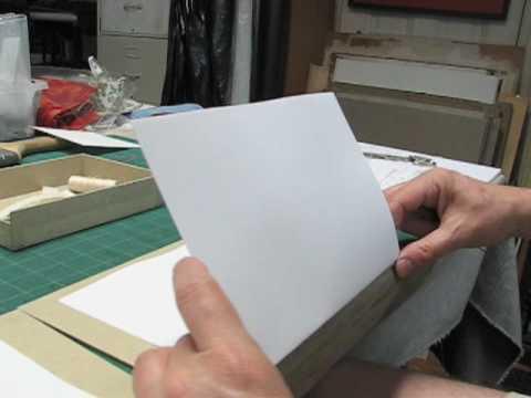 Sewing Printed Signatures - Part 1