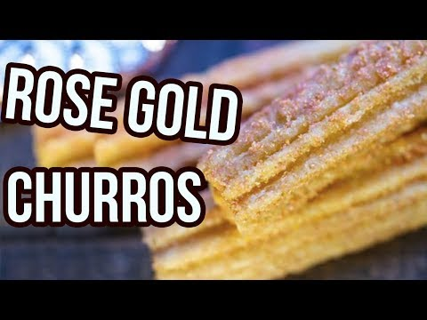 Disneyland's Rose Gold Churros Are Every Instagrammers Dream Come True