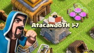 ATACANDO TU ALDEA TH 1 al 7 #52 - CLASH OF CLANS A POR TODAS CON ANIKILO