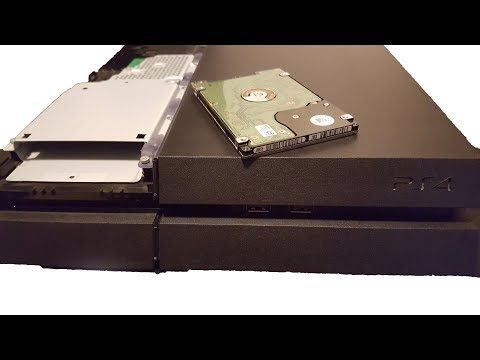 PS4 2TB Hard Drive Step by Step Upgrade