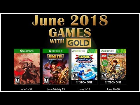Xbox Live Games With Gold June 2018