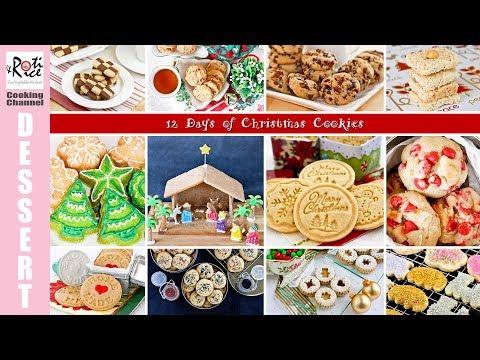 12 Days of Christmas Cookies |  Roti n Rice