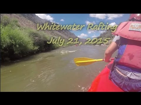 Whitewater Rafting @ July 21, 2015 (with captions)