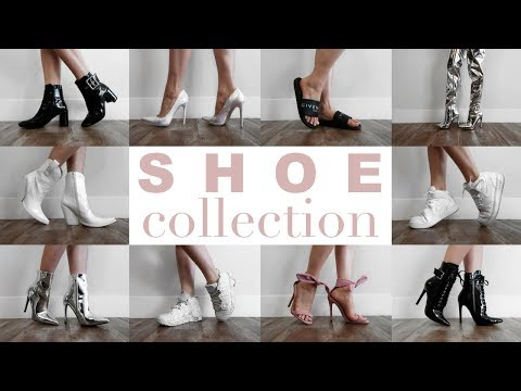 MY SHOE COLLECTION 2018 + Try On