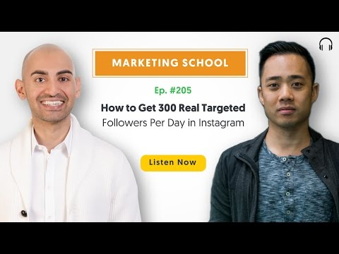 How to Get 300 Real Targeted Followers Per Day in Instagram | Ep. #205